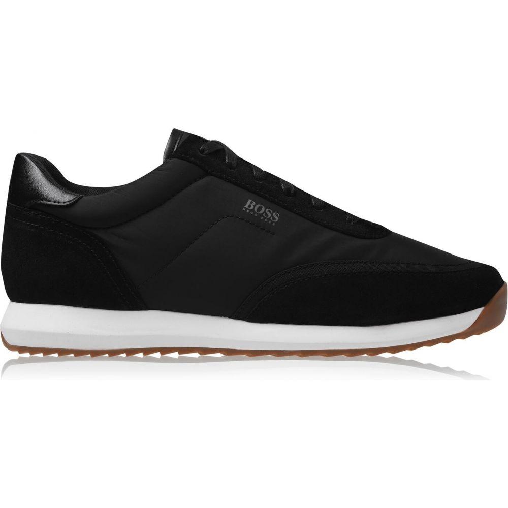 ヒューゴ ボス メンズ シューズ 靴 スニーカー Black Run Nylon BOSS サイズ交換無料 セールSALE%OFF Sonic Trainers 高品質新品