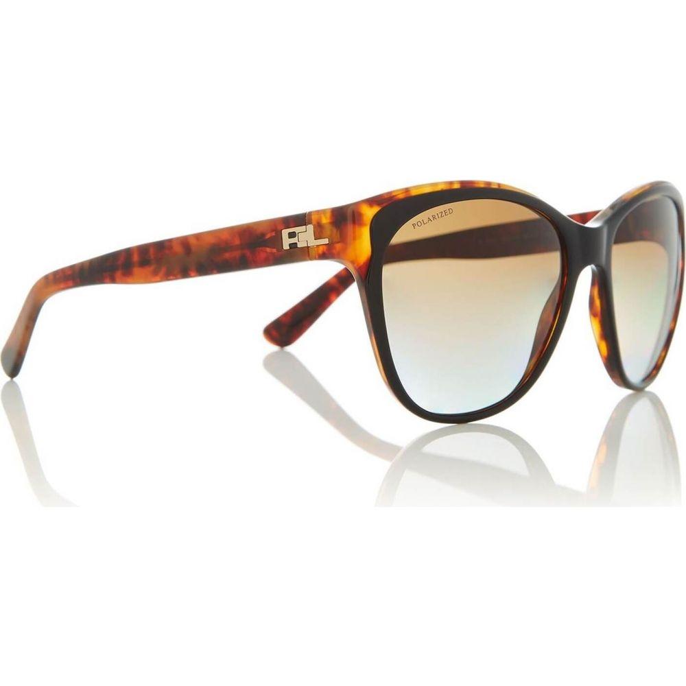 ラルフ ローレン Ralph Lauren レディース メガネ・サングラス 【Black RL8156 Cat Eye Sunglasses】Black