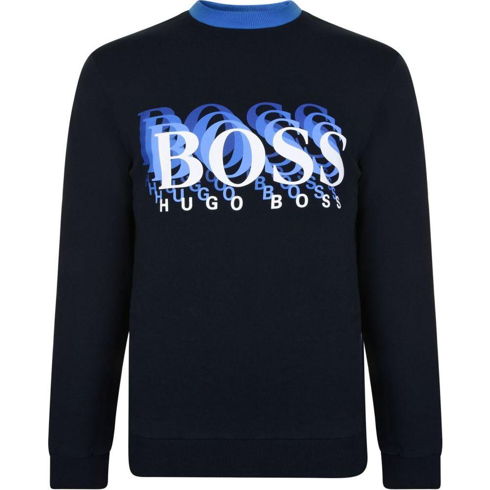 ヒューゴ ボス Boss メンズ スウェット・トレーナー トップス【Sweatshirt】Navy