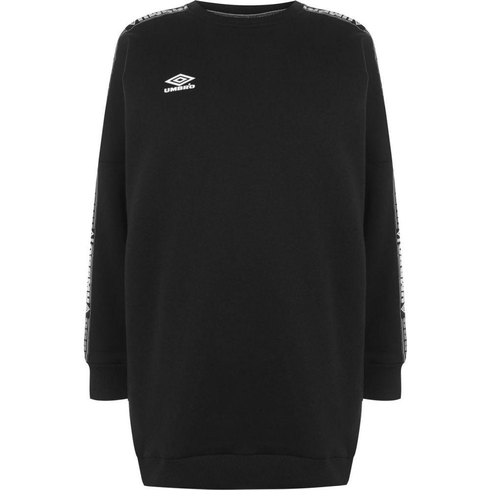 アンブロ Umbro レディース ワンピース ワンピース・ドレス【Batwing Sweater Dress】BLACK