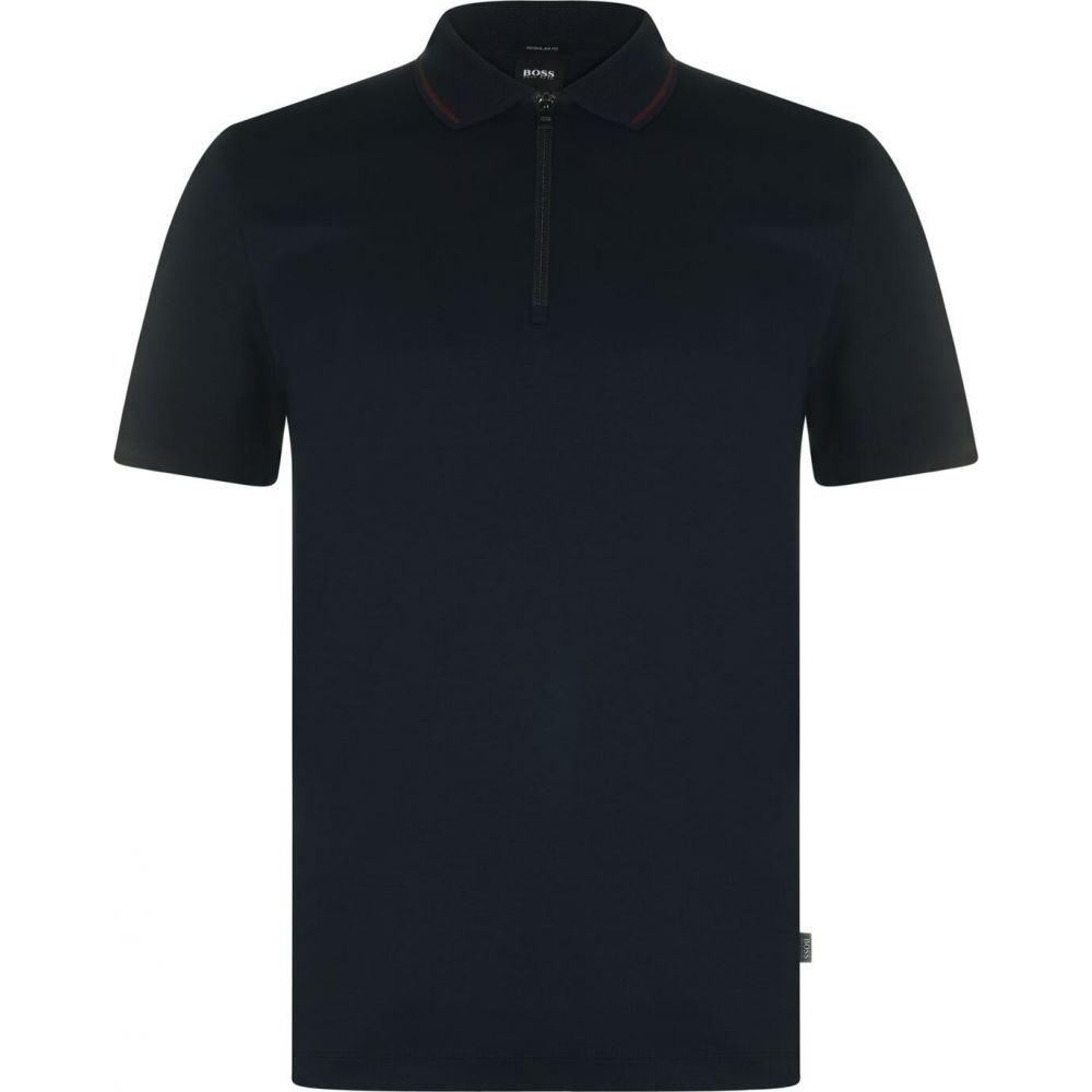ヒューゴ ボス BOSS メンズ ポロシャツ トップス【Paras 03 Polo Shirt】Navy