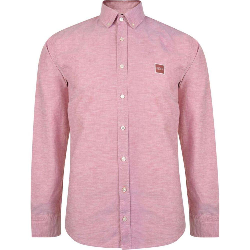 ヒューゴ ボス Boss メンズ シャツ トップス【Mabsoot Logo Shirt】Pink