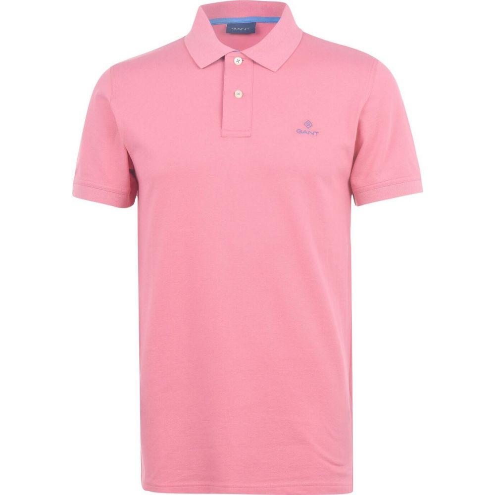 ガント メンズ 価格交渉OK送料無料 トップス ポロシャツ Pink 70%OFFアウトレット サイズ交換無料 Polo Shirt Contrast Gant Rugger