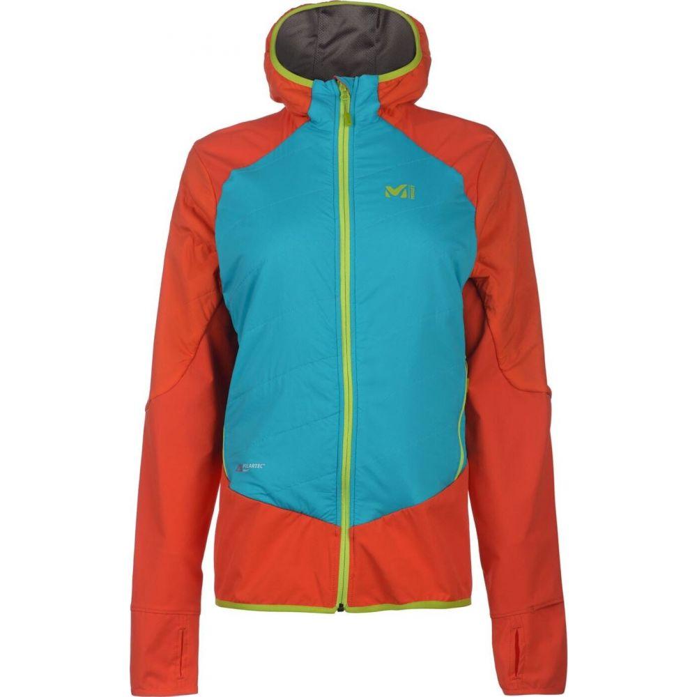 ミレー Millet レディース ジャケット アウター【Touring Speed Jacket】Orange Blue