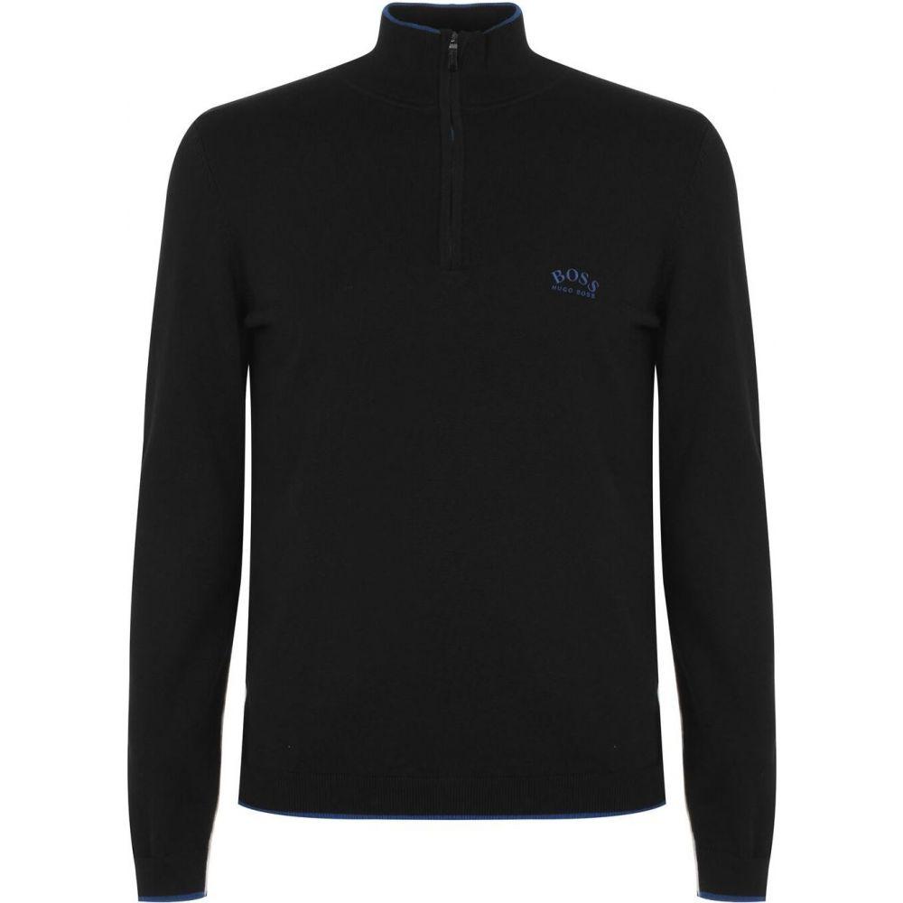 ヒューゴ ボス Boss メンズ ニット・セーター トップス【Ziston Pullover Top】Black:フェルマート