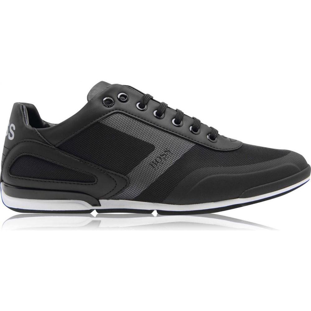 ヒューゴ ボス メンズ シューズ 靴 スニーカー Trainers サイズ交換無料 Black 新作続 PU Boss Saturn 迅速な対応で商品をお届け致します