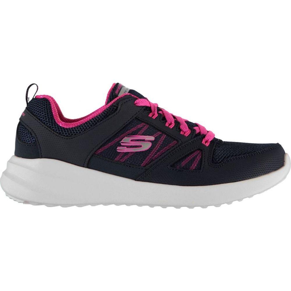 スケッチャーズ レディース シューズ 靴 スニーカー お買い得品 Navy Pink 国際ブランド Skybound Trainers サイズ交換無料 Skechers