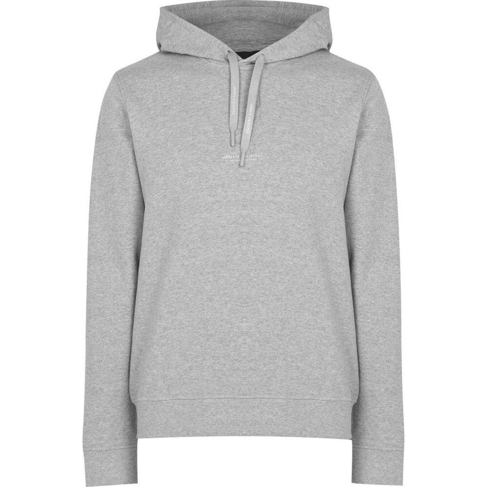 アルマーニ メンズ トップス パーカー Grey サイズ交換無料 Exchange Small ランキングTOP10 Logo セール 特集 Armani Hoodie
