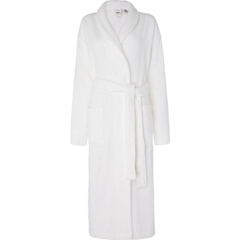 ホテル コレクション Hotel Collection レディース ガウン·バスローブ バスローブ インナー·下着【Bathrobe】White