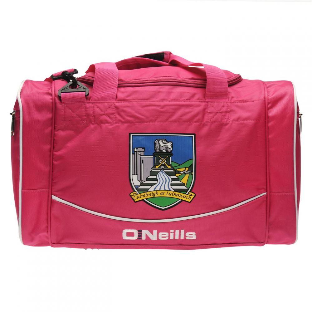 オニール 推奨 レディース バッグ 25%OFF ボストンバッグ ダッフルバッグ Pink Holdall サイズ交換無料 Limerick ONeills GAA