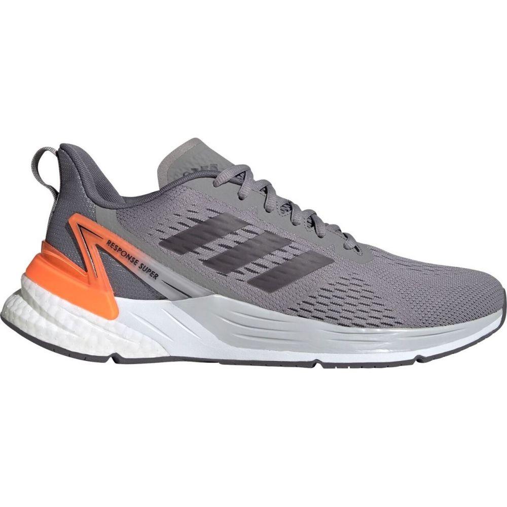 アディダス adidas メンズ ランニング・ウォーキング シューズ・靴【Response Super Boost Running Shoes】LtGrey/Orange