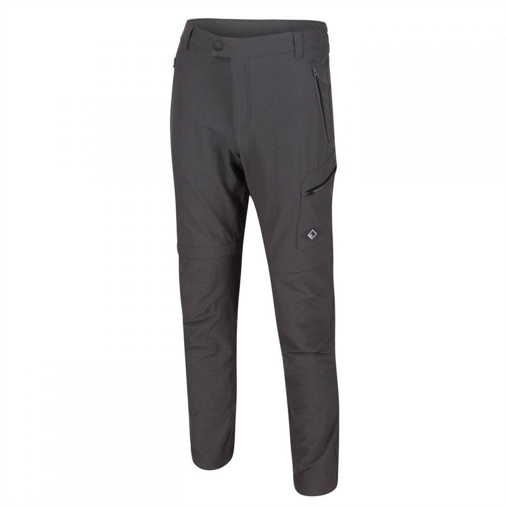 レガッタ Regatta メンズ ランニング・ウォーキング ボトムス・パンツ【Highton Zip Off Stretch Walking Trousers (Regular】Magnet