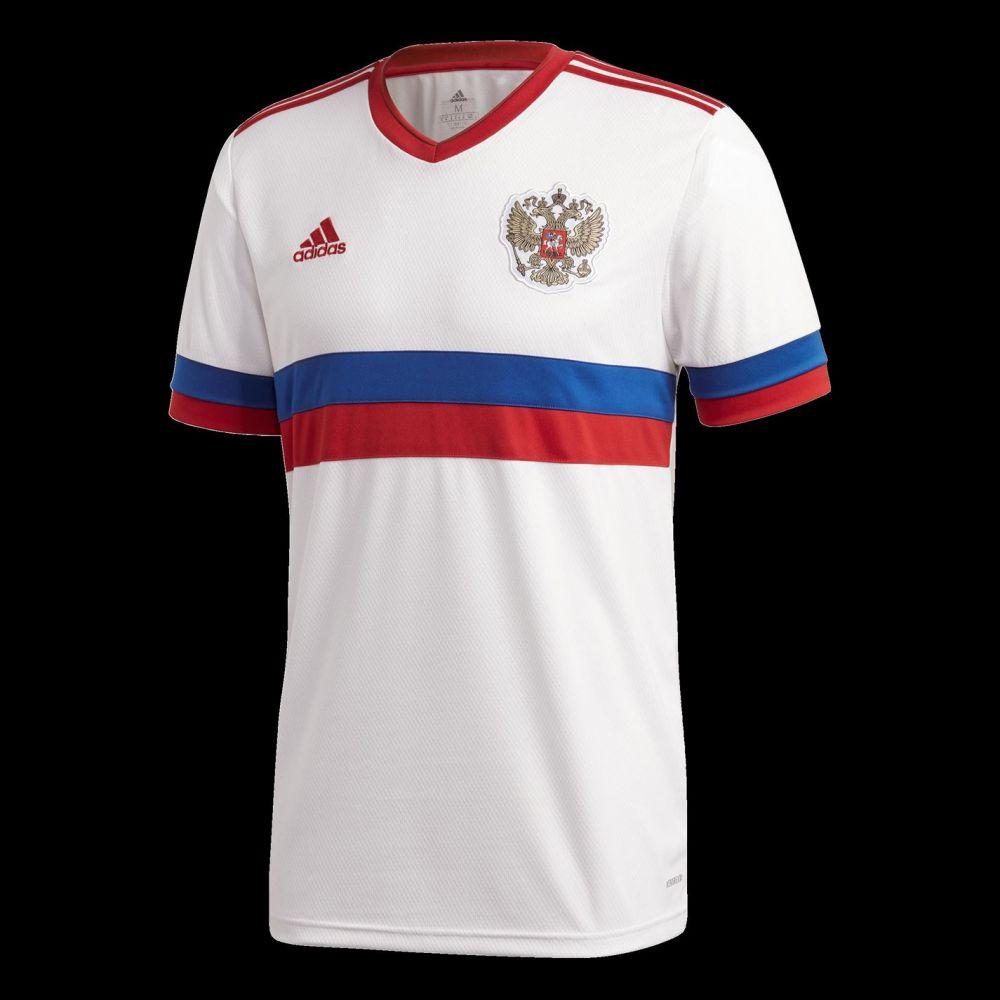 アディダス メンズ サッカー トップス White 期間限定送料無料 大人気 サイズ交換無料 Away Russia adidas Shirt 2020