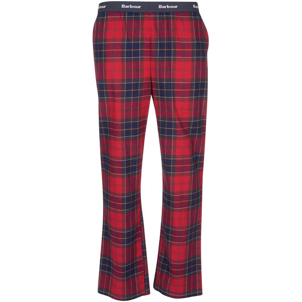 バブアー 在庫一掃 メンズ インナー 下着 パジャマ ボトムのみ Tartan Glen RE Sn14 Barbour Pant 超特価SALE開催 B.Li PJ