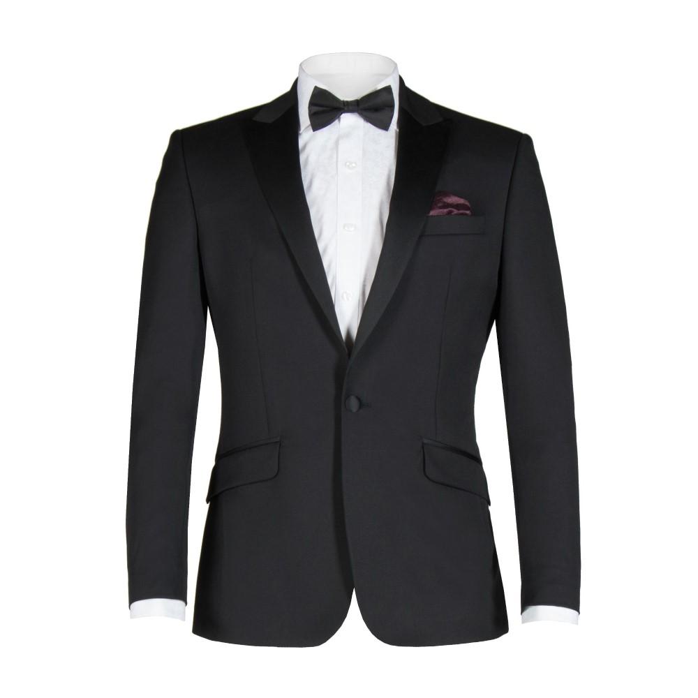 アレクサンダー オブ イングランド メンズ アウター スーツ・ジャケット【Wells Black Twill Dress Jacket】black