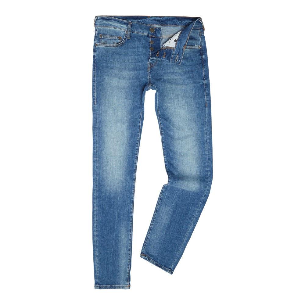 トゥルー レリジョン メンズ ボトムス・パンツ ジーンズ・デニム【Rocco Denim Lapis Light Wash Slim Fit Jeans】denim light wash