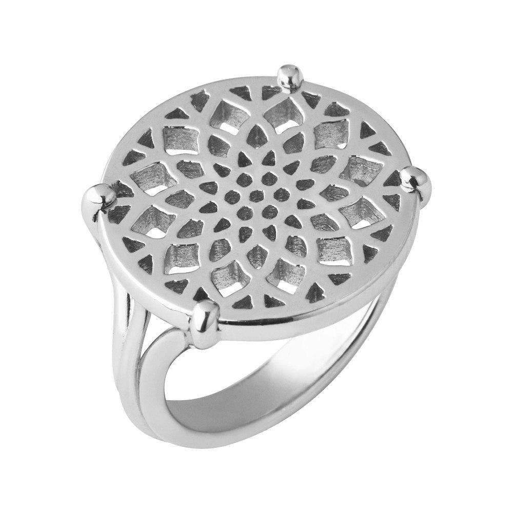 リンクス オブ ロンドン レディース ジュエリー・アクセサリー 指輪・リング【Timeless Sterling Silver Coin Ring- Size L】
