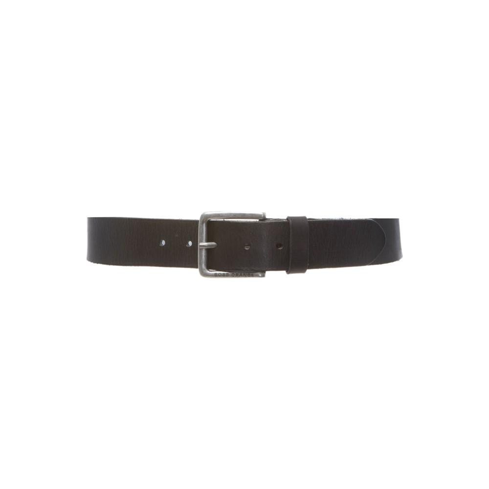 ヒューゴ ボス メンズ ベルト【Jeek Matt Leather Belt】black