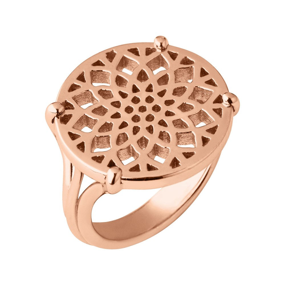 リンクス オブ ロンドン レディース ジュエリー・アクセサリー 指輪・リング【Timeless Rose Gold Coin Ring】rose gold