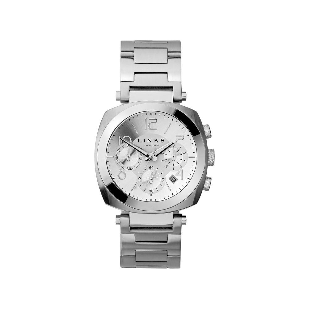 リンクス オブ ロンドン レディース 腕時計【Brompton Stainless Steel Watch】silver