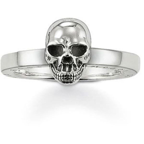 トーマスサボ レディース ジュエリー・アクセサリー 指輪・リング【Rebel At Heart Silver Skull Ring】silver