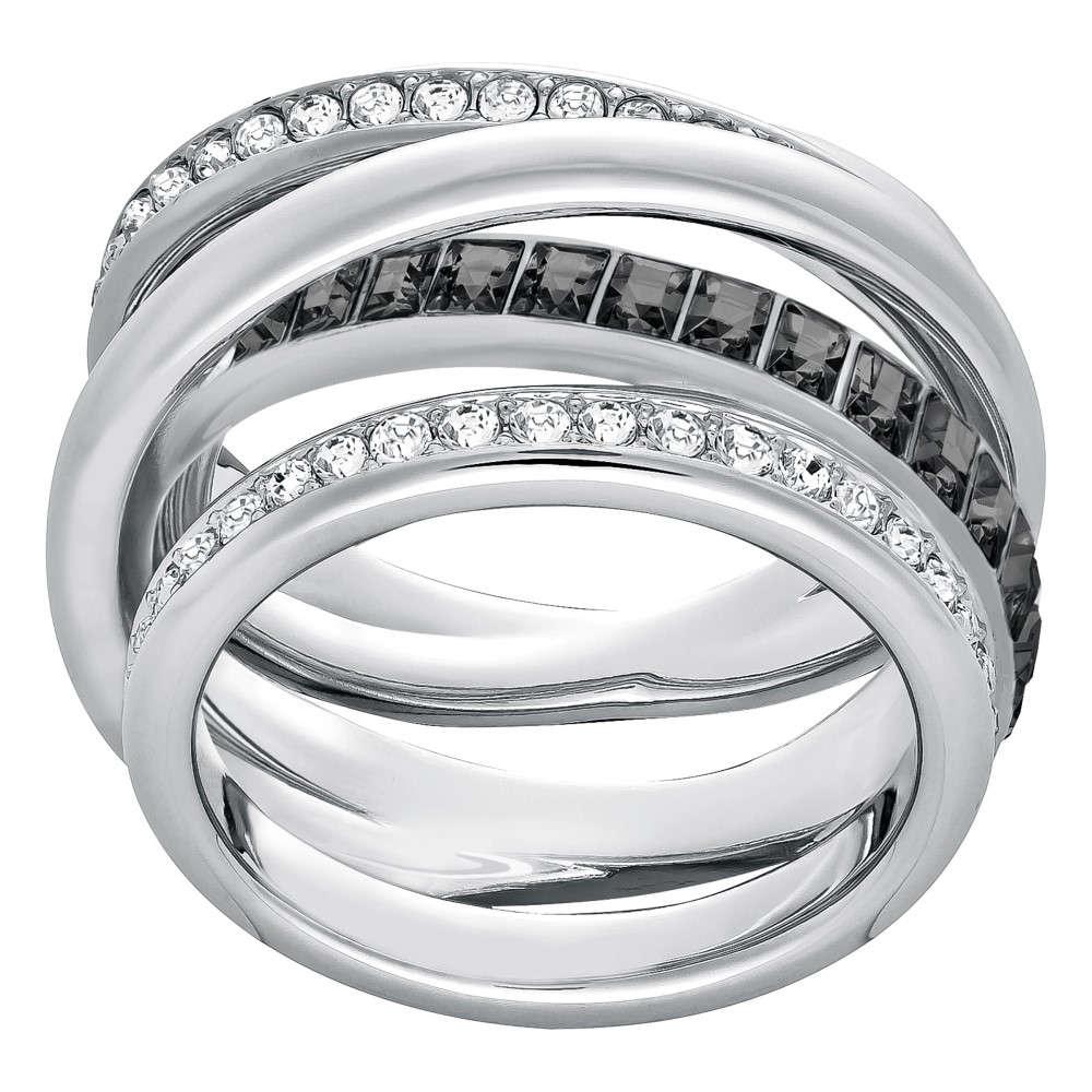 スワロフスキー レディース ジュエリー・アクセサリー 指輪・リング【Dynamic Ring】silver