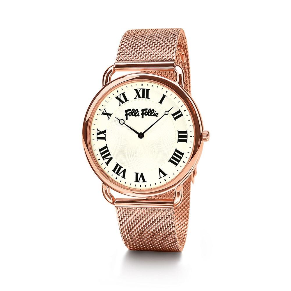 フォリフォリ レディース 腕時計【Perfect Match Large Rose Gold Watch】rose gold