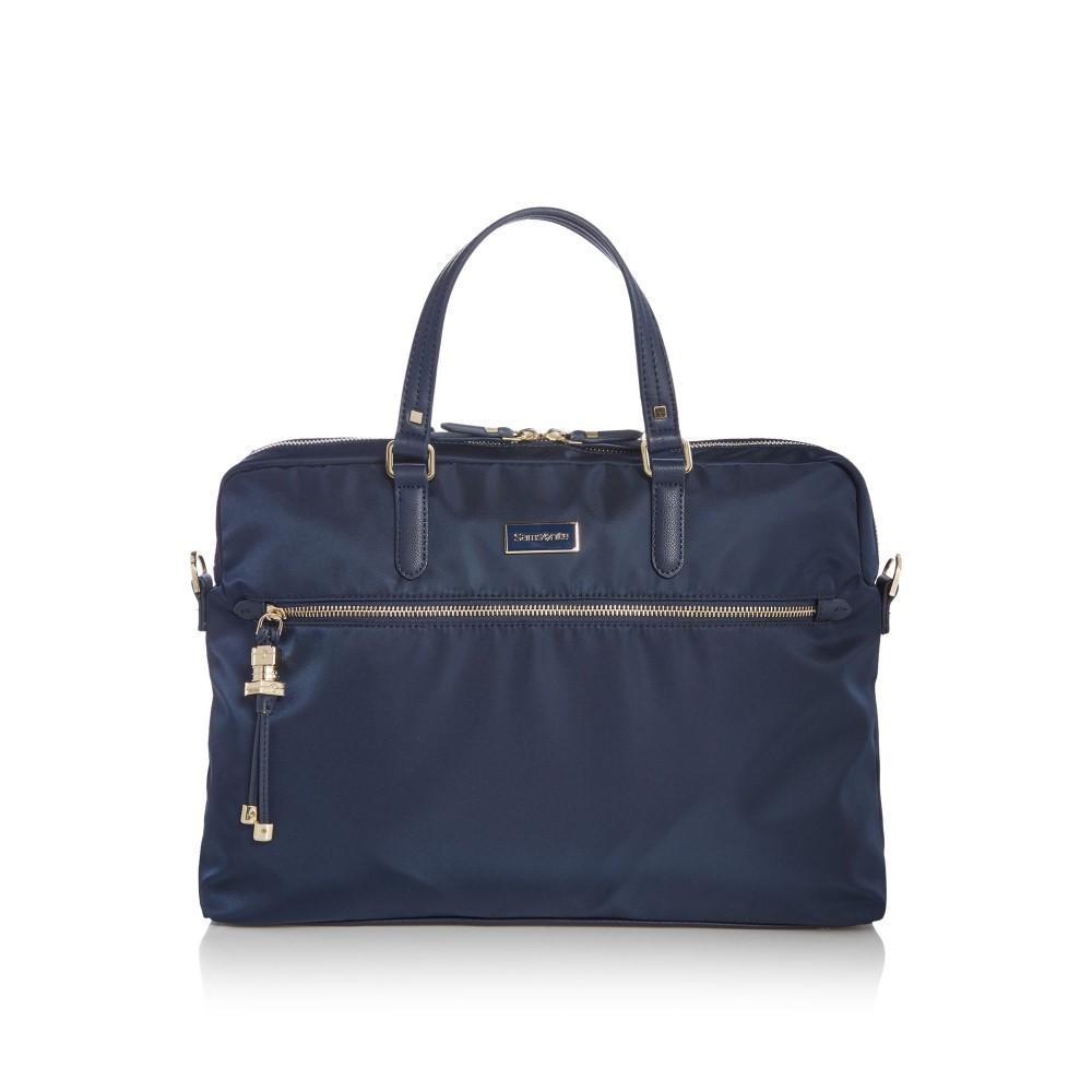 サムソナイト レディース バッグ パソコンバッグ【Karissa Navy Laptop Bag】navy