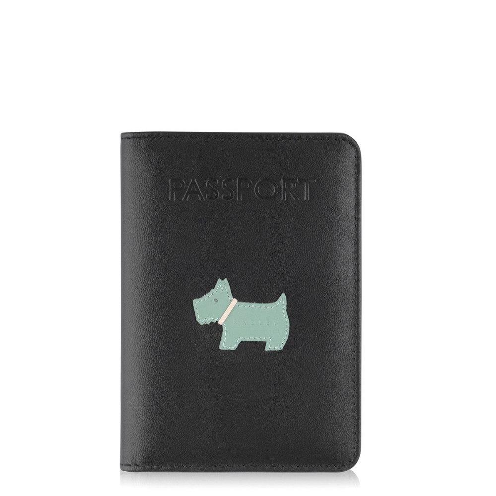 ラドリー レディース パスポートケース【Heritage Dog Passport Cover】black