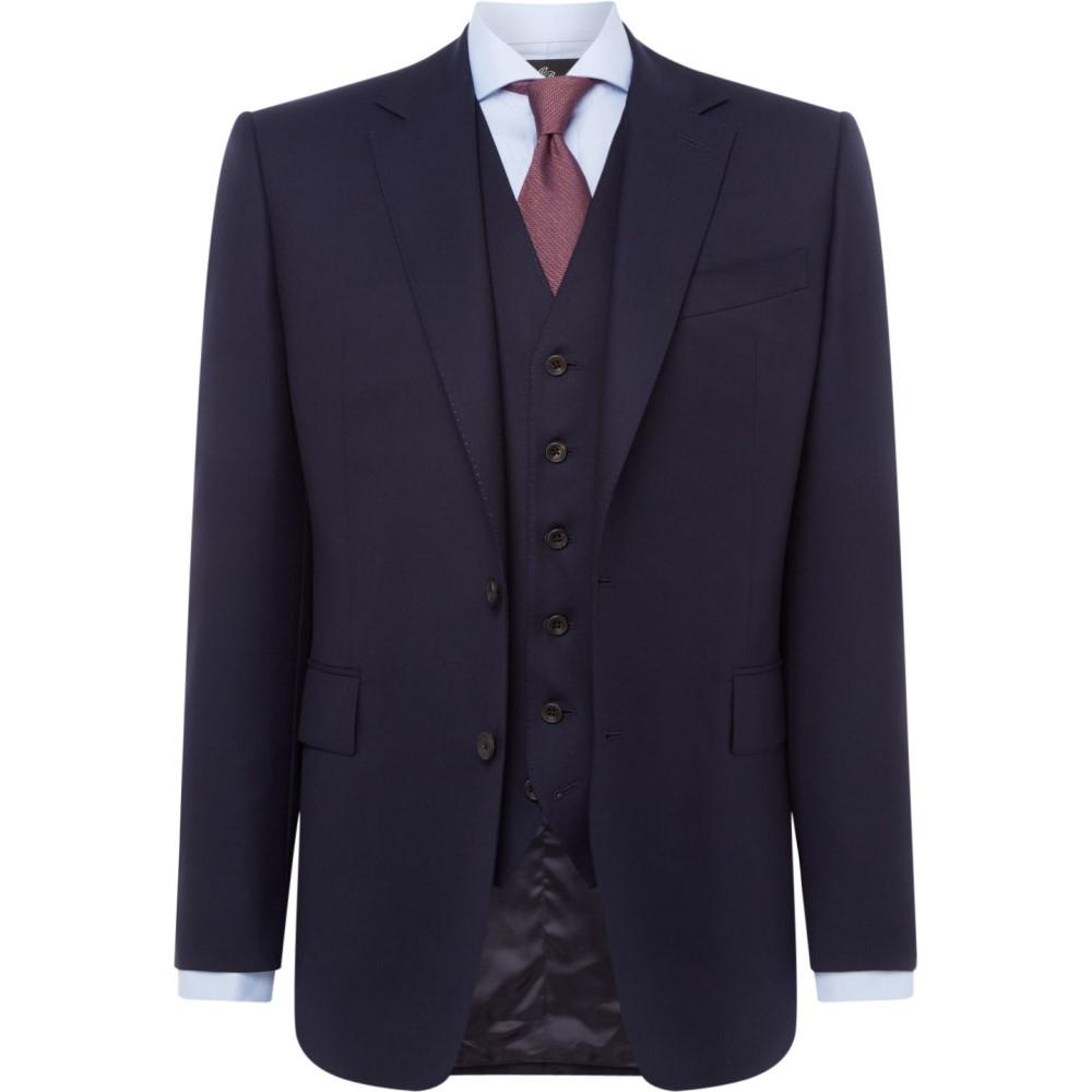 チェスター バリー メンズ アウター スーツ・ジャケット【Twill Albermarle Suit Jacket】navy