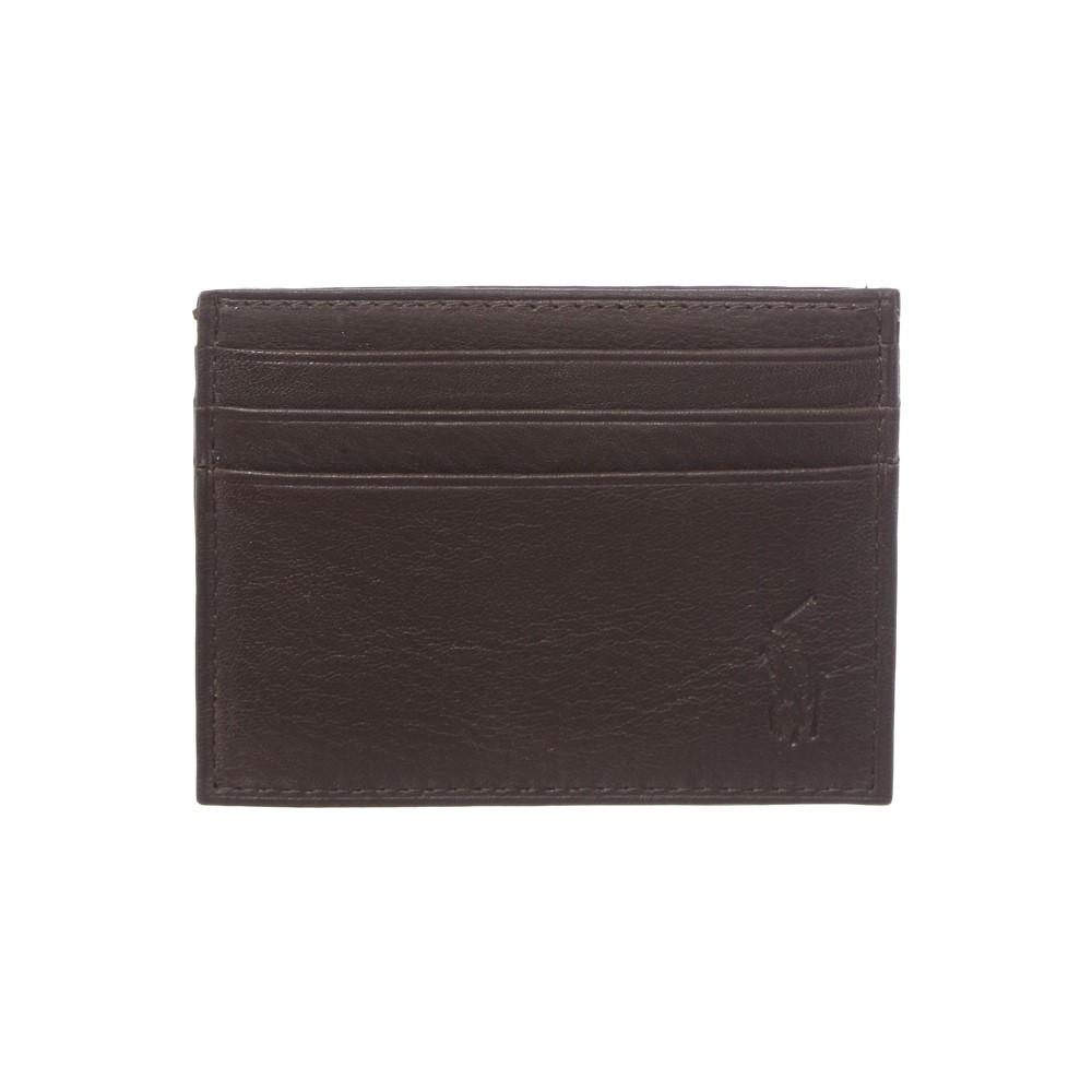 ラルフ ローレン メンズ カードケース・名刺入れ【Classic Cardholder】brown