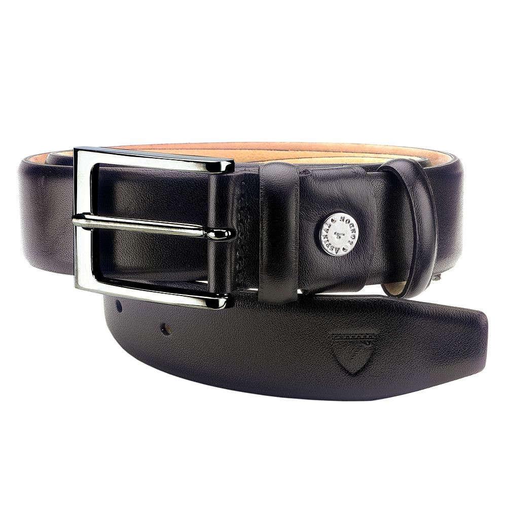 アスピナル オブ ロンドン メンズ ベルト【Classic Belt】black