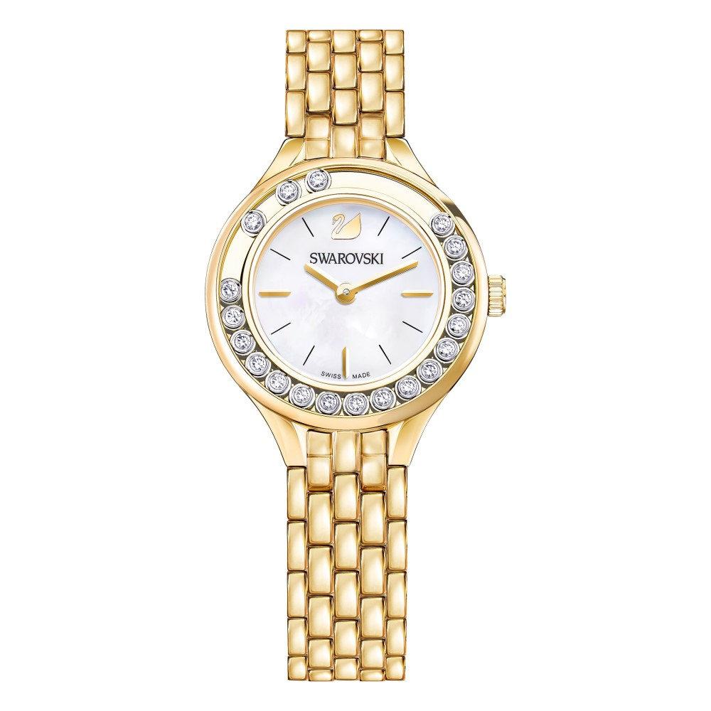 スワロフスキー レディース 腕時計【Lovely Crystals Mini Watch】gold metallic