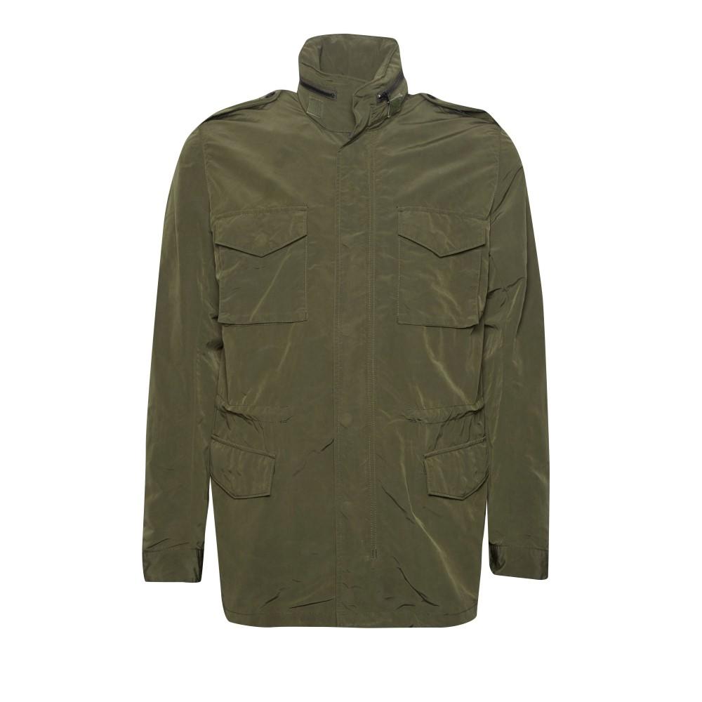 フレンチコネクション メンズ アウター ジャケット【Wax Sanded Field Jacket】green