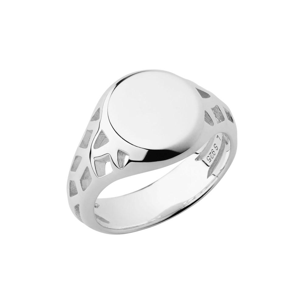 リンクス オブ ロンドン レディース ジュエリー・アクセサリー 指輪・リング【Timeless Sterling Silver Signet Ring】silver