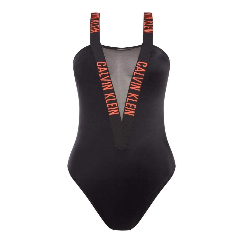 カルバンクライン レディース 水着・ビーチウェア ワンピース【Intense Power Mesh One Piece Swimsuit】black