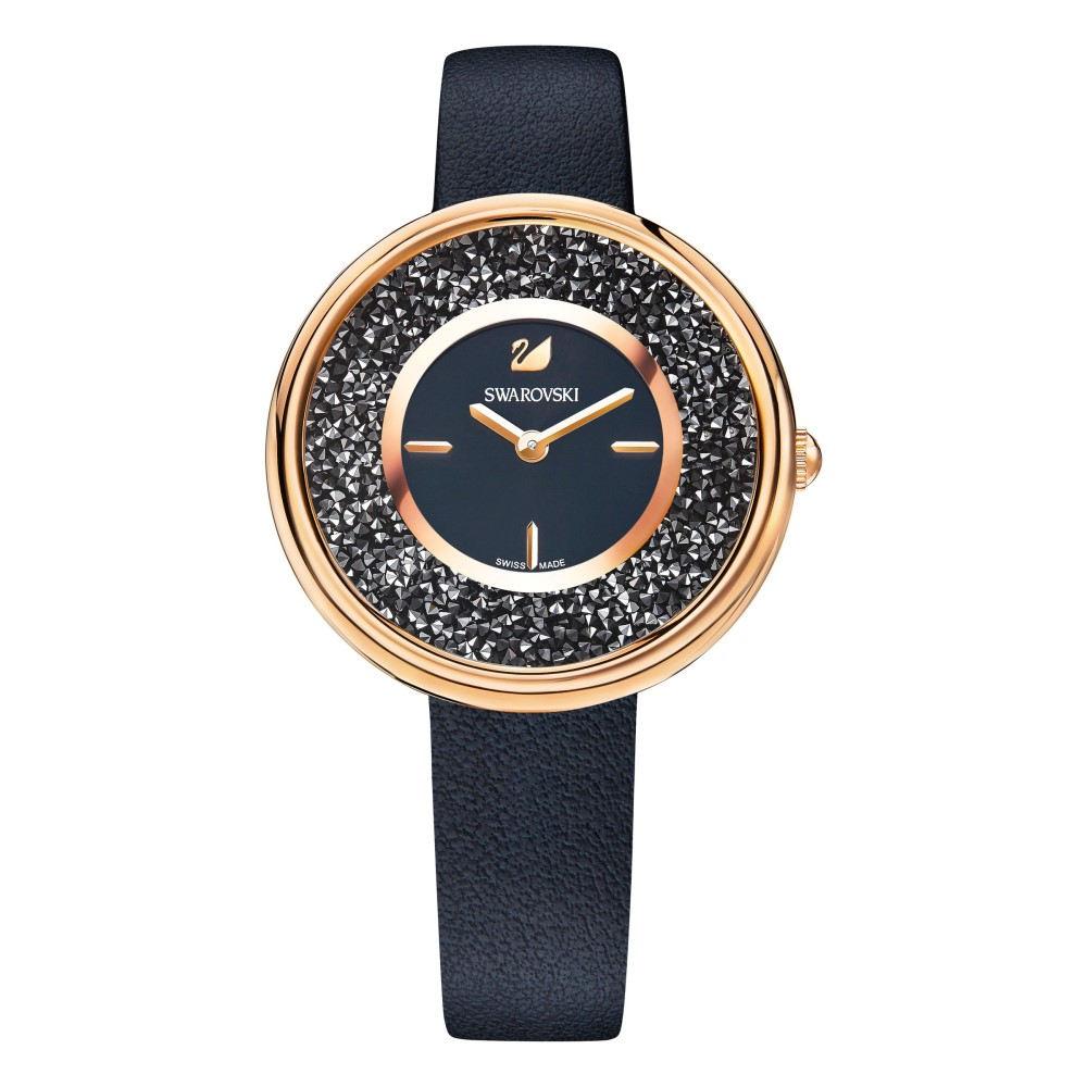 スワロフスキー レディース 腕時計【Crystalline Pure Watch, Black】black