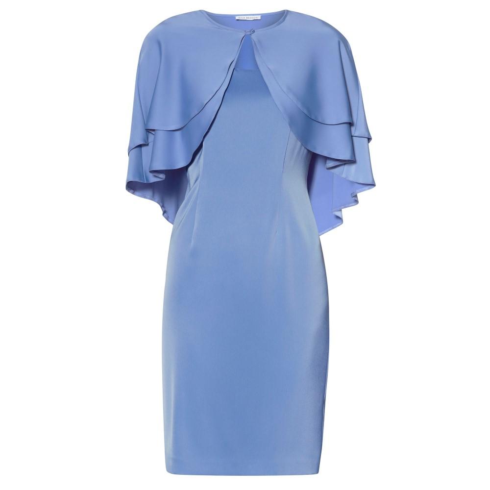 ジーナ バッコーニ レディース ワンピース・ドレス ワンピース【Colette Dress And Cape】blue
