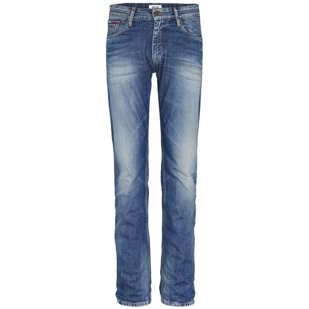 トミー ヒルフィガー メンズ ボトムス・パンツ ジーンズ・デニム【Ryan Penrose Straight Fit Jeans】mid blue