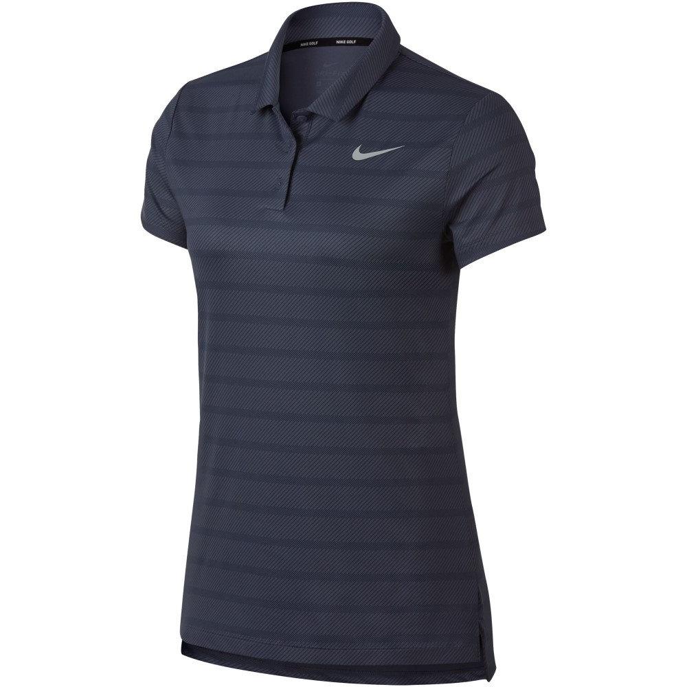 df812713c85c3 ナイキ レディース トップス ポロシャツ Dry Golf Stripe Polo carbon ...