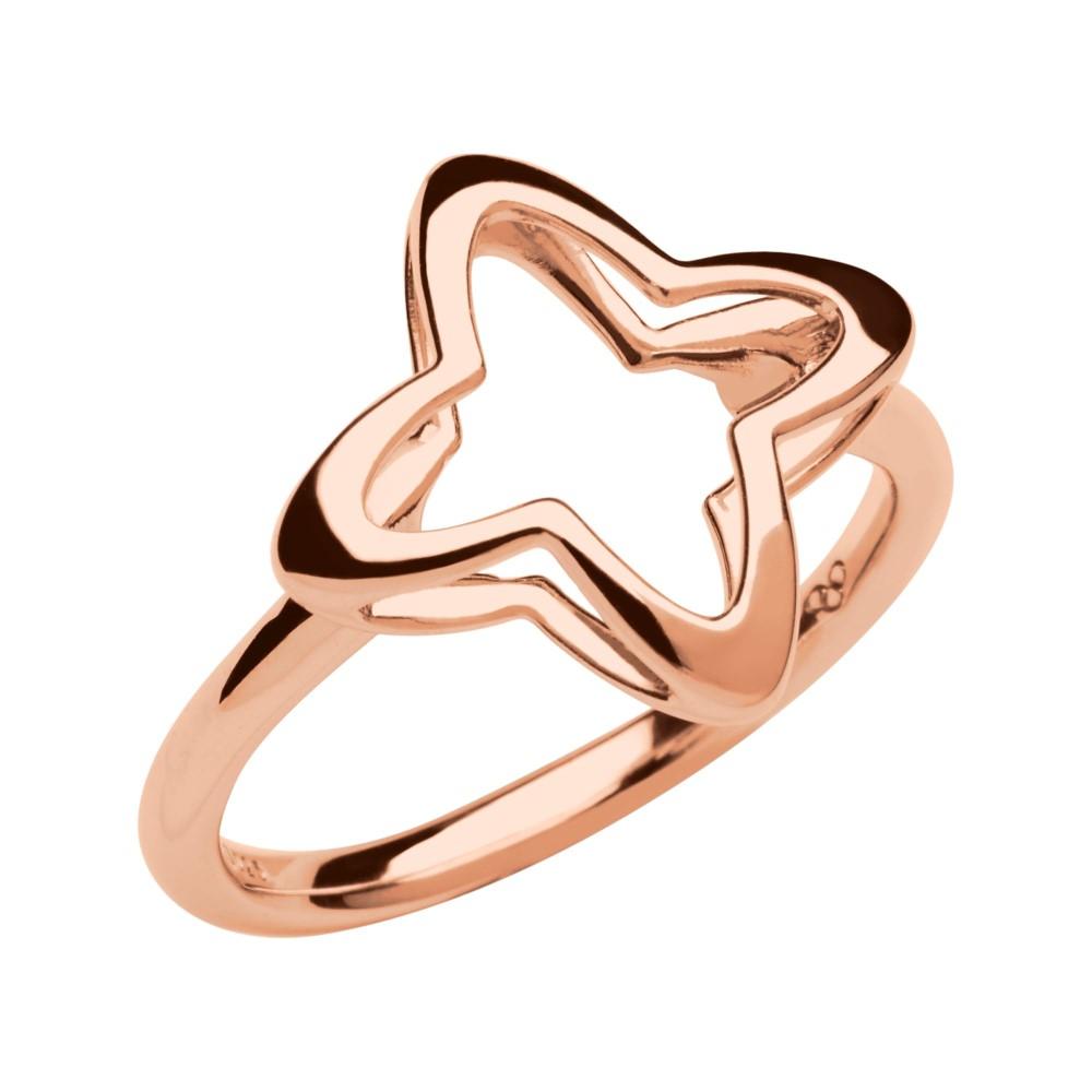 リンクス オブ ロンドン レディース ジュエリー・アクセサリー 指輪・リング【Splendour 18kt Rose Gold Vermeil Open Four-point】rose gold