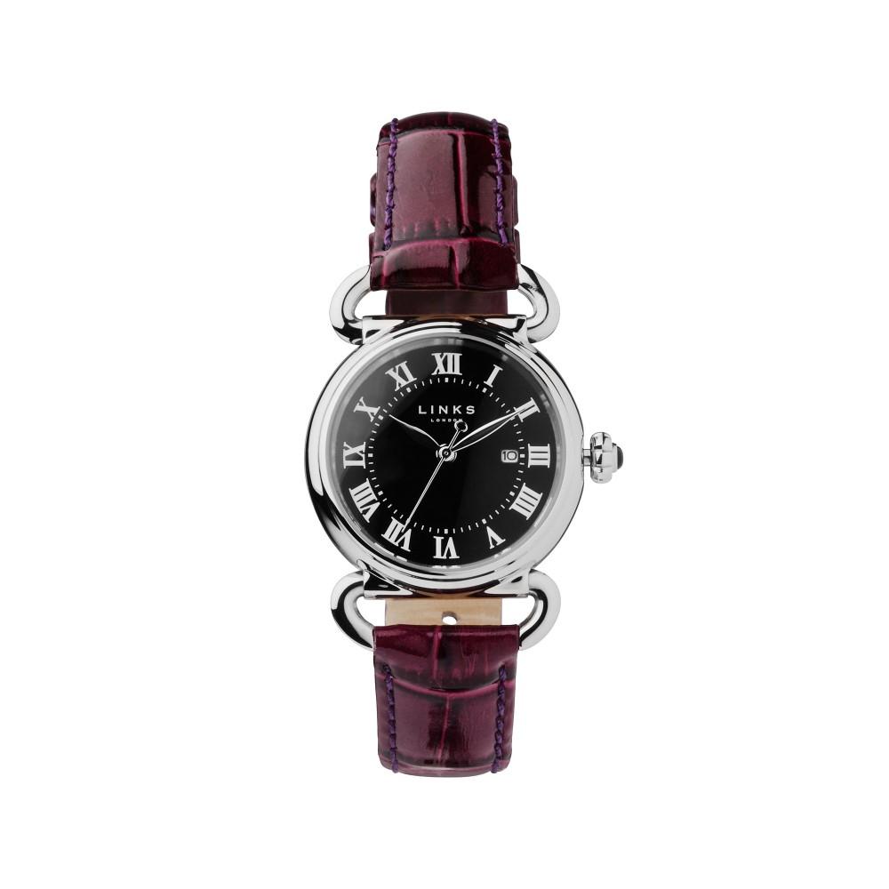 リンクス オブ ロンドン レディース 腕時計【Driver Round Purple Watch】purple