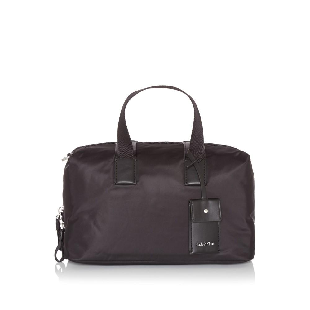 カルバンクライン レディース バッグ ボストンバッグ・ダッフルバッグ【City Nylon Large Duffle Tote Bag】black