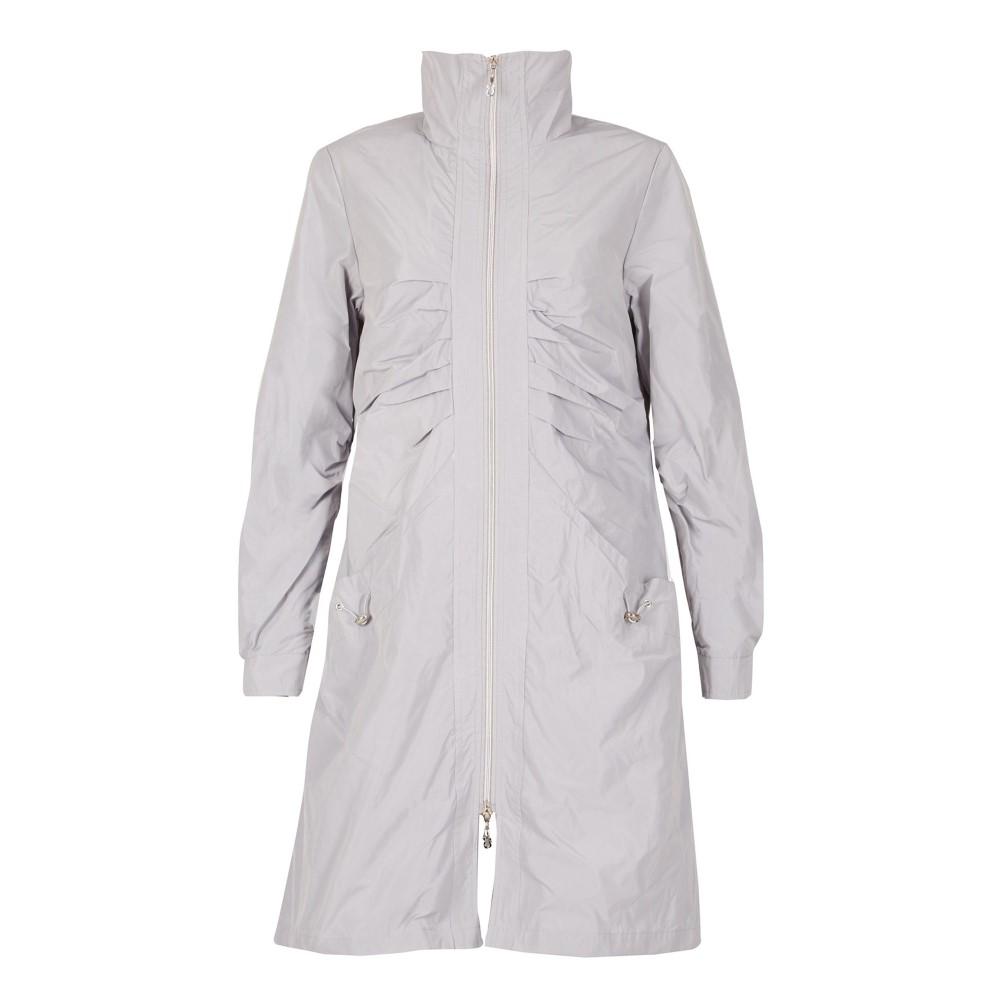 デビッド バリー レディース アウター レインコート【Raincoat】silver