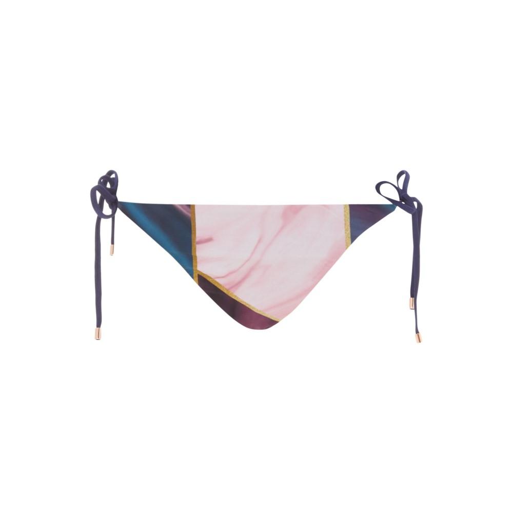テッドベーカー レディース 水着・ビーチウェア ボトムのみ【Balmoral Marble Reversible Pant】navy