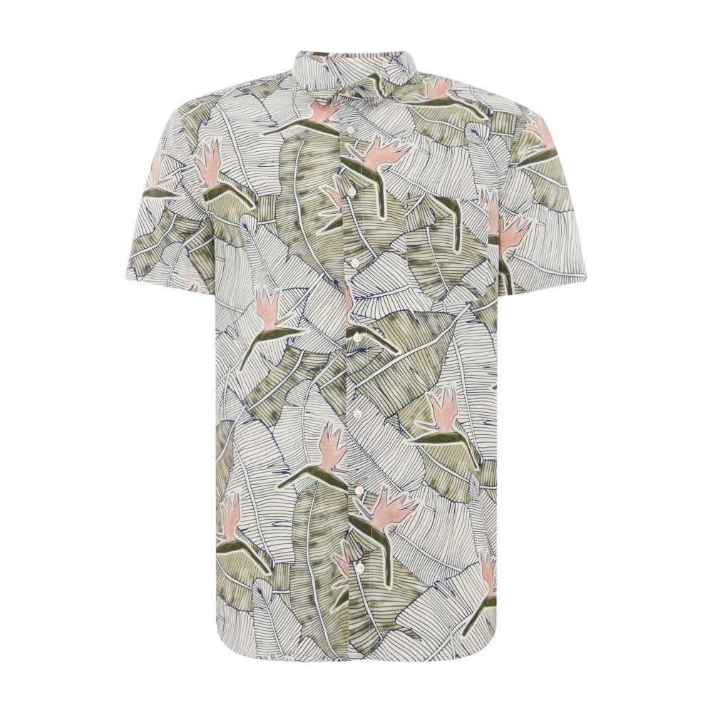 ヒューゴ ボス メンズ トップス 半袖シャツ【Cattitude 1 Short Sleeve Floral Print Shirt】multi-coloured