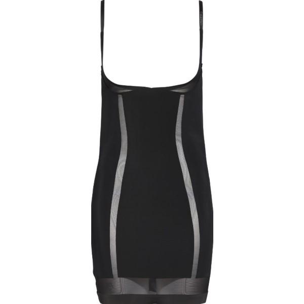 カルバンクライン レディース インナー・下着【Sculpted Shapewear Full Slip】black