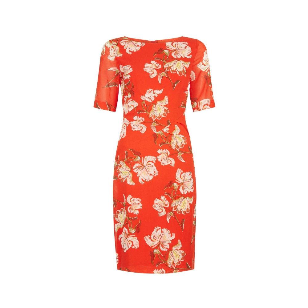 ホッブス レディース ワンピース・ドレス ワンピース【Stellie Dress】red multi
