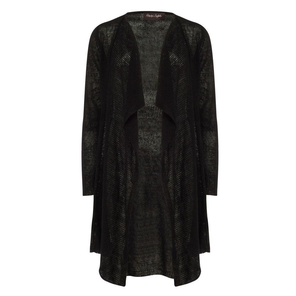 フェーズ エイト レディース トップス カーディガン【Luella Linen Cardigan】black