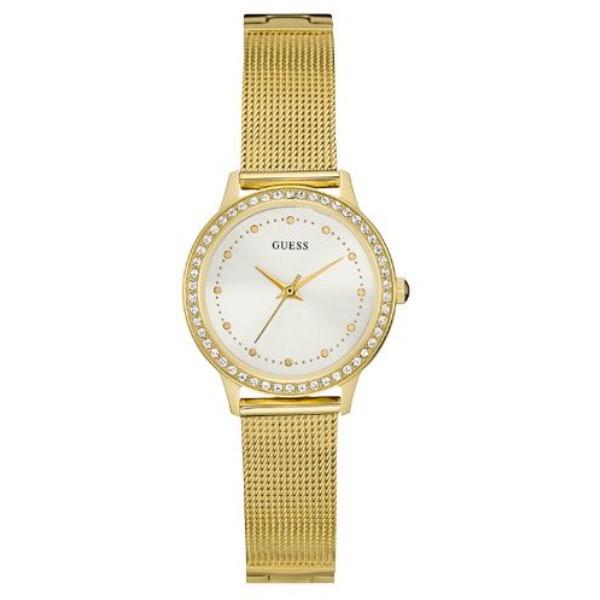 ゲス レディース 腕時計【W0647l7 Bracelet Dress Watch】gold